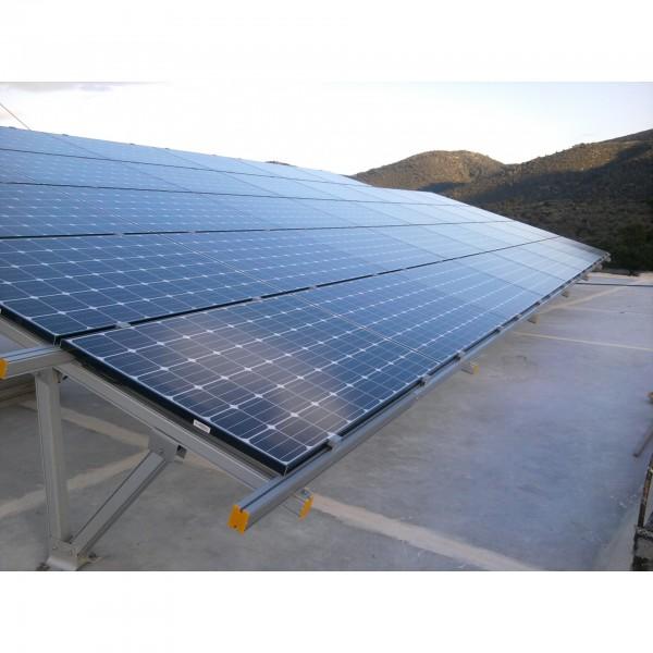 9.88kWp Φωτοβολταικό στέγης με πλαίσια LG & Inverter Solar Edge