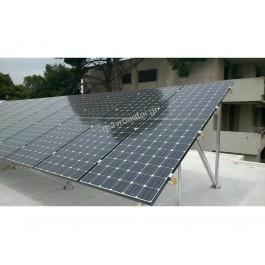 5 kWp Φωτοβολταικό ταράτσας με πλαίσια LG & Inverter Solar Edge