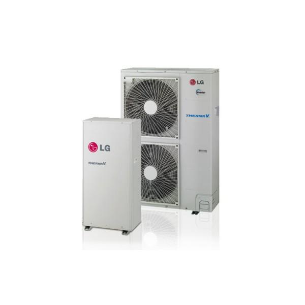 LG SPLIT HEAT PUMP H/T HN1610H.NK2 WITH HYDROBOX HU161H.U32 LG ELECTRONICS THERMA V SPLIT HEAT PUMP