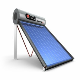 SOLAR WATER HEATER CALPAK MARK 4 160/2.6 TRIEN SOLAR WATER SYSTEMS