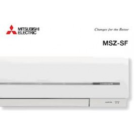 MITSUBISHI ELECTRIC MSZ/MUZ-SF25VE 9000 BTU Inverter